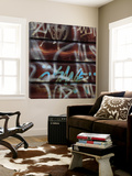 Graffiti 1 Print by Carl Ellie