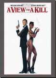 James Bond, Dangereusement vôtre Reproduction transférée sur toile