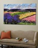 Pastel Landscape III Affischer av Jacques Clement