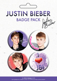 Justin Bieber Badge Pack Badge