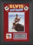 "Elvis Presley""Blue Hawaii"" framed presentation Framed Memorabilia"