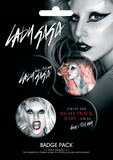 Lady Gaga Badge Pack Badge