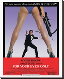 James Bond, For Your Eyes Only Stretched Canvas Print