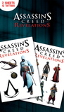 Assassins Creed Revelations Tattoo Packs Temporary Tattoos