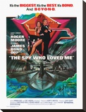 James Bond, Spy Who Loved Me Stretched Canvas Print