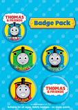 Thomas and Friends Badge Pack Badge