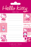 Hello Kitty Label Packs Stickers