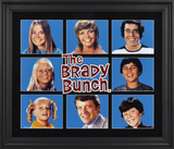 The Brady Bunch limited edition framed presentation Framed Memorabilia