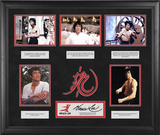 "Bruce Lee ""The Wisdom of Bruce Lee"" limited edition framed presentation with laser-cut logo Framed Memorabilia"