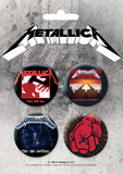 Metallica Badge Pack Badge