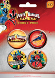 Power Rangers Badge Pack Badge