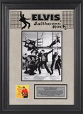 Elvis Presley &quot;Jailhouse Rock&quot; framed presentation Framed Memorabilia