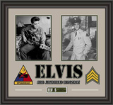 Elvis Presley Army Years framed presentation Framed Memorabilia