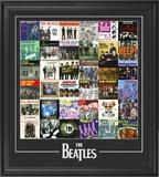 """The Beatles """"Singles Around The World"""" framed presentation Framed Memorabilia"""