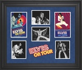 "Elvis Presley ""Elvis On Tour"" limited edition framed presentation Framed Memorabilia"