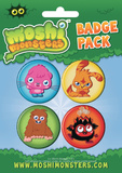 Moshi Monsters Badge Pack Badge