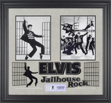 "Elvis Presley ""Jailhouse Rock"" framed presentation Framed Memorabilia"