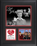 "I Love Lucy ""60th Anniversary"" framed presentation Framed Memorabilia"