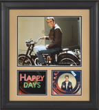 Happy Days &quot;Fonzie&quot; 15x17 framed presentation Framed Memorabilia