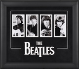 The Beatles four-photo framed presentation Peças de valor estimativo emolduradas
