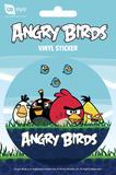 Angry Birds Group Vinyl Sticker Klistremerker