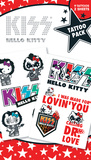 Hello Kitty - Kiss Temporary Tattoos Temporary Tattoos