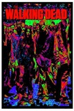 The Walking Dead Zombies Blacklight Poster Poster