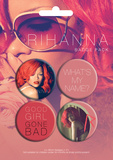 Rihanna Badge Pack Badge