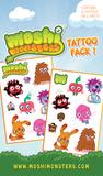 Moshi Monsters 2 Temporary Tattoos Temporary Tattoos