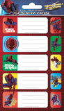 The Amazing Spiderman Label Packs Stickers