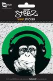 Steez Monkee Vinyl Sticker Stickers