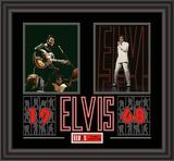 "Elvis Presley ""1968"" framed presentation Framed Memorabilia"
