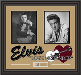 "Elvis Presley ""Love Me Tender"" framed presentation Framed Memorabilia"