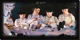 The Milk Bar Leinwand von Justin Reed
