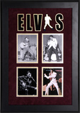 Elvis Presley framed photo presentation Framed Memorabilia