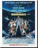 James Bond, Moonraker Stretched Canvas Print