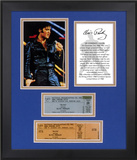 "Elvis Presley ""68 Special 40th Anniversary"" framed photo with replica ticket Framed Memorabilia"