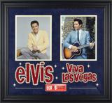 """Elvis Presley """"Viva Las Vegas"""" framed presentation Framed Memorabilia"""