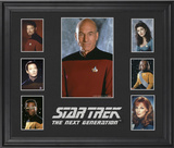 Star Trek: The Next Generation limited edition framed presentation Framed Memorabilia