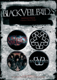 Black Veil Brides Badge Pack Badge