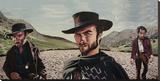 Gunslingers Reproduction transférée sur toile par Justin Reed