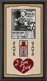 I Love Lucy &quot;Vitameatavegamin&quot; framed presentation Framed Memorabilia