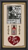 """I Love Lucy """"Vitameatavegamin"""" framed presentation Framed Memorabilia"""