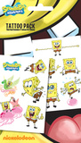 Spongebob Tattoo Packs Temporary Tattoos