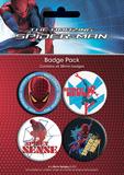 The Amazing Spiderman Badge Pack Badge