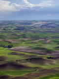 The Palouse Region, a Major Wheat-Producing Agricultural Area Photographic Print by Sean Bagshaw