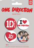 One Direction Badge Pack Badge