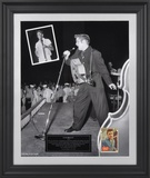"Elvis Presley ""1956"" limited edition framed presentation with 1956 trading card Framed Memorabilia"