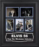 "Elvis Presley ""Elvis '56"" colorized presentation Framed Memorabilia"