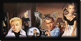Man of Mystery Leinwand von Justin Reed